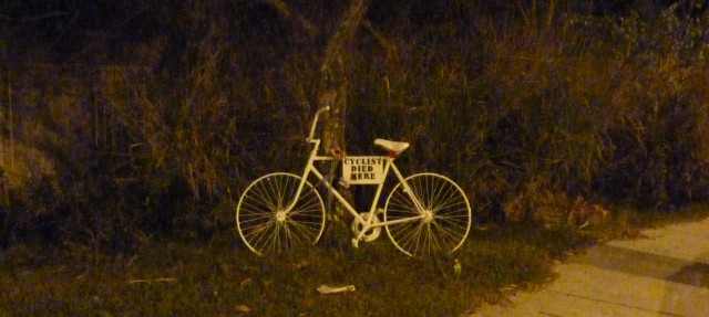 Ghost bike photo